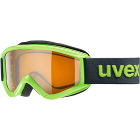 UVEX speedy pro Maschera Bambino, verde/arancione